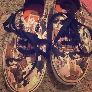 Vans cats shoes size 13